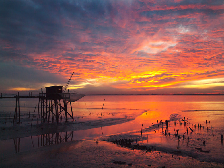 Photograph Gironde estuary by Stephen Rennie on 500px