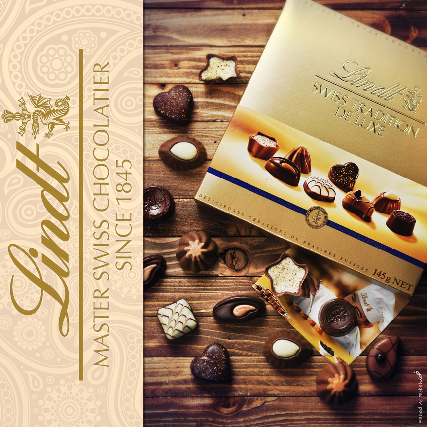 Photograph Lindt chocolat by Photographyat - Products Photography & Graphic Design on 500px