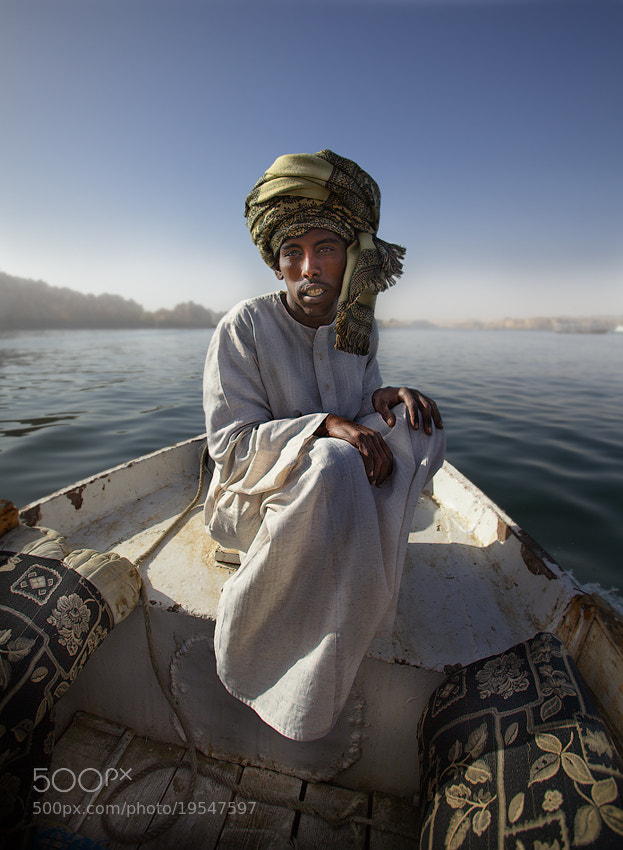 Photograph The nubian boatman by Jenya Sayfutdinov on 500px