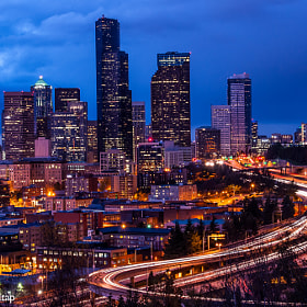 Downtown Seattle by Ketkarn Sakultap (KetkarnSakultap)) on 500px.com
