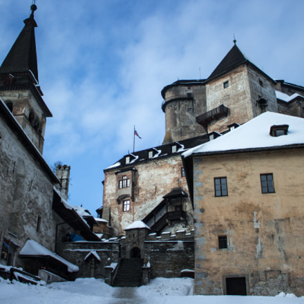 Winter in Orava Castle