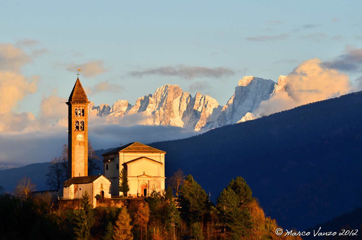 Photograph Castello di Fiemme by Marco Vanzo on 500px