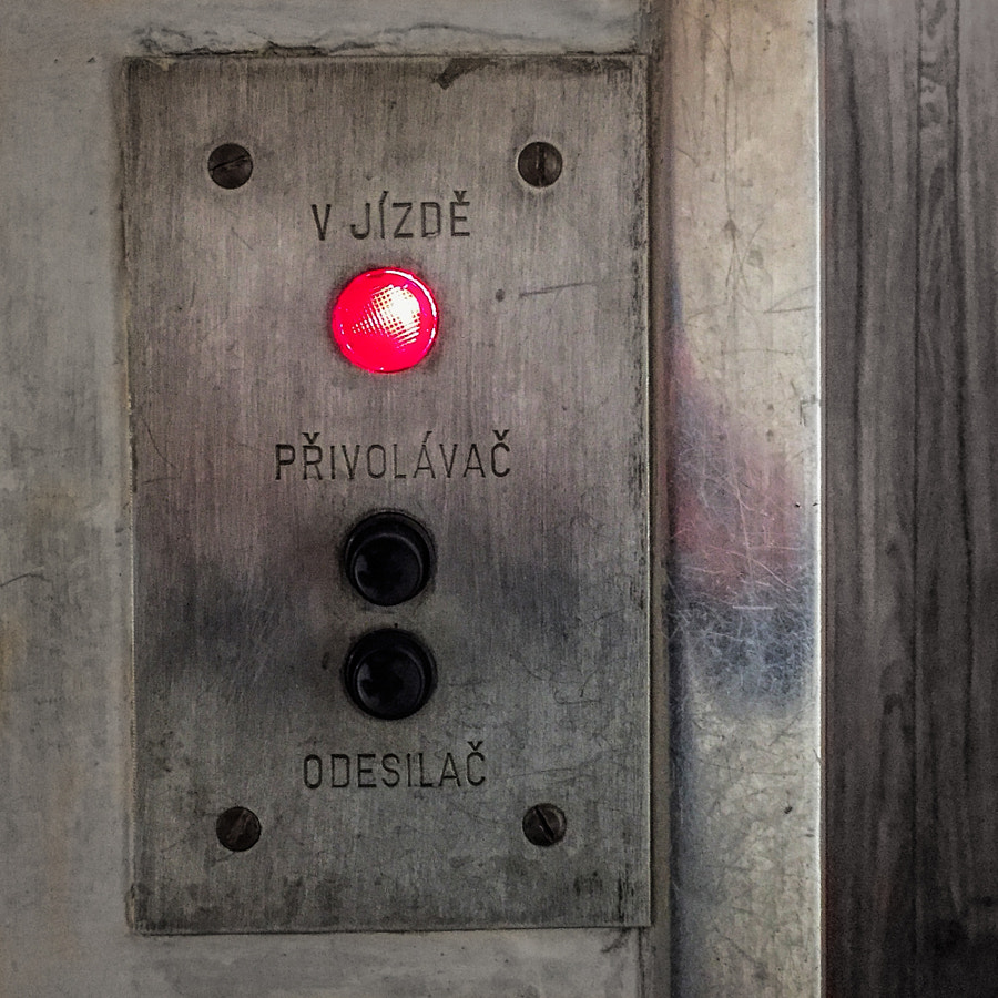 Red Lift Button