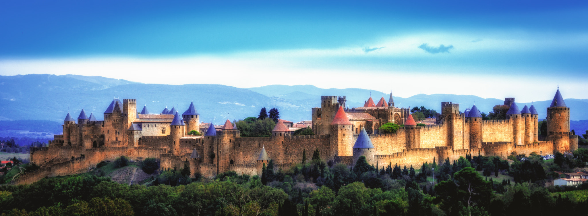 Photograph Castle Carcassone - France by franck bachere on 500px