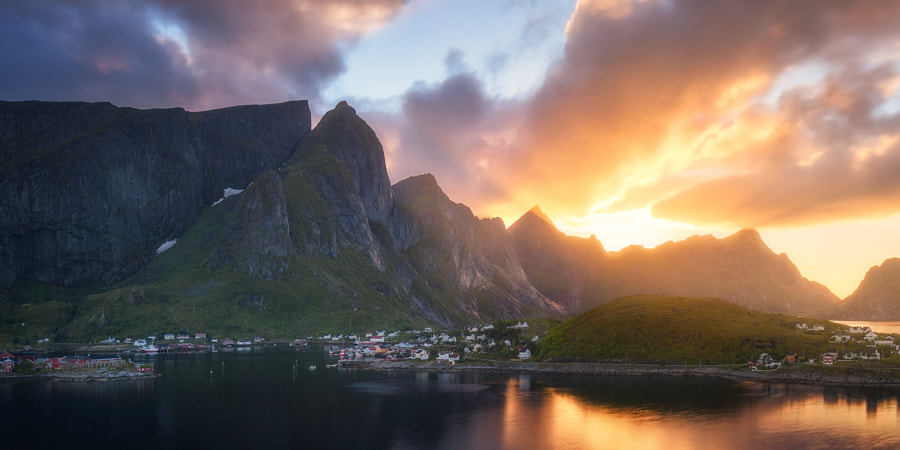 Awesome Light in Northern Norway by Daniel F. on 500px.com