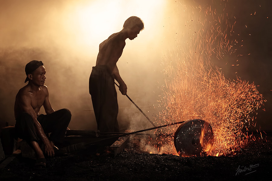 Photograph GONG MAKERS by Hendro Alramy on 500px