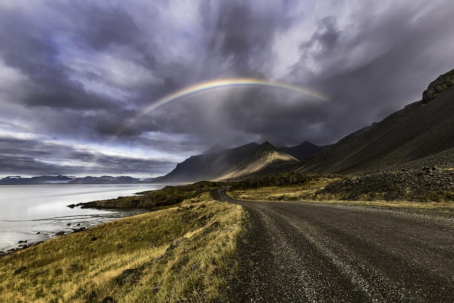 Rainbow at Stokksnes by Saptashaw Chakraborty on 500px.com