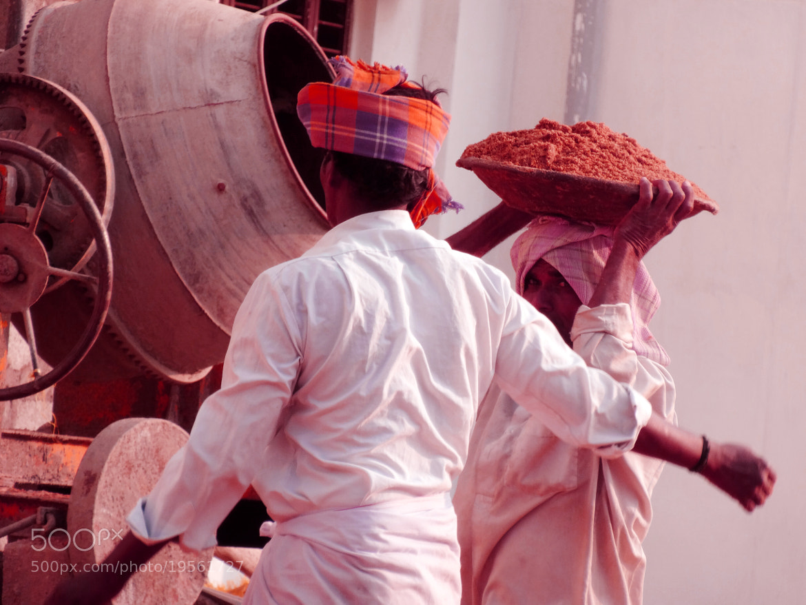 Photograph Indian Men at Work !!! by Ravi Shankar on 500px