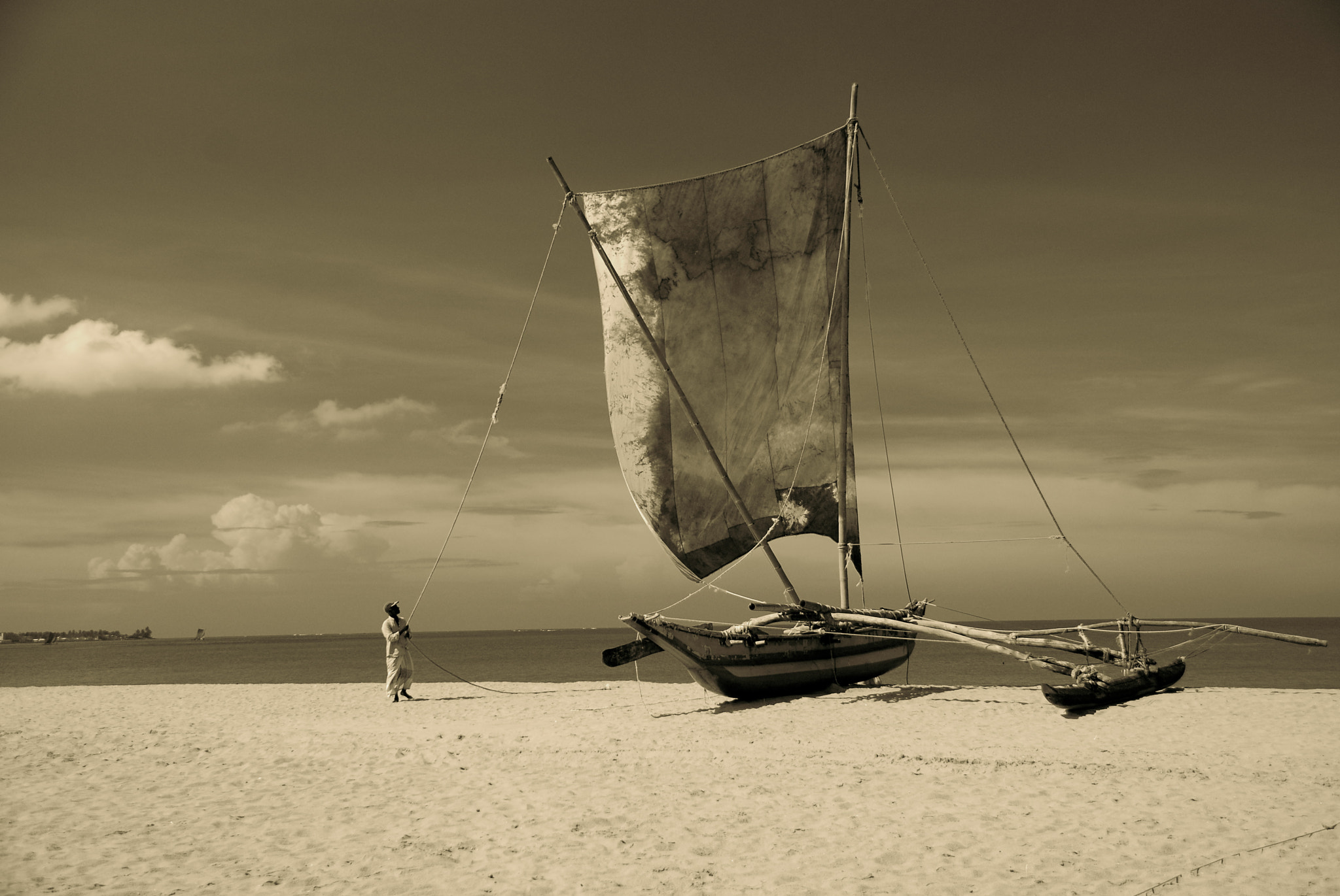 Photograph Ready to sail by Heshan  de Mel on 500px