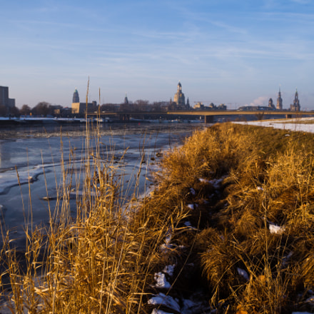 Icy Morning in Dresden, Canon EOS-1D MARK IV, Sigma 24-60mm f/2.8 EX DG