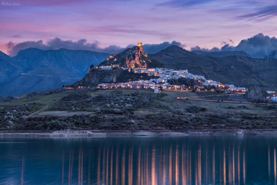 The Lady of the Lake || Zahara de la Sierra, Cádiz by Chano Sanchez on 500px.com