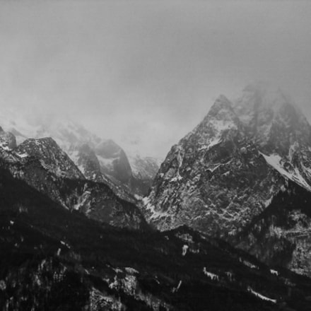 Tops of the Karwendel, Nikon D1