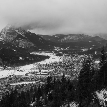 View of Garmisch, Nikon D1