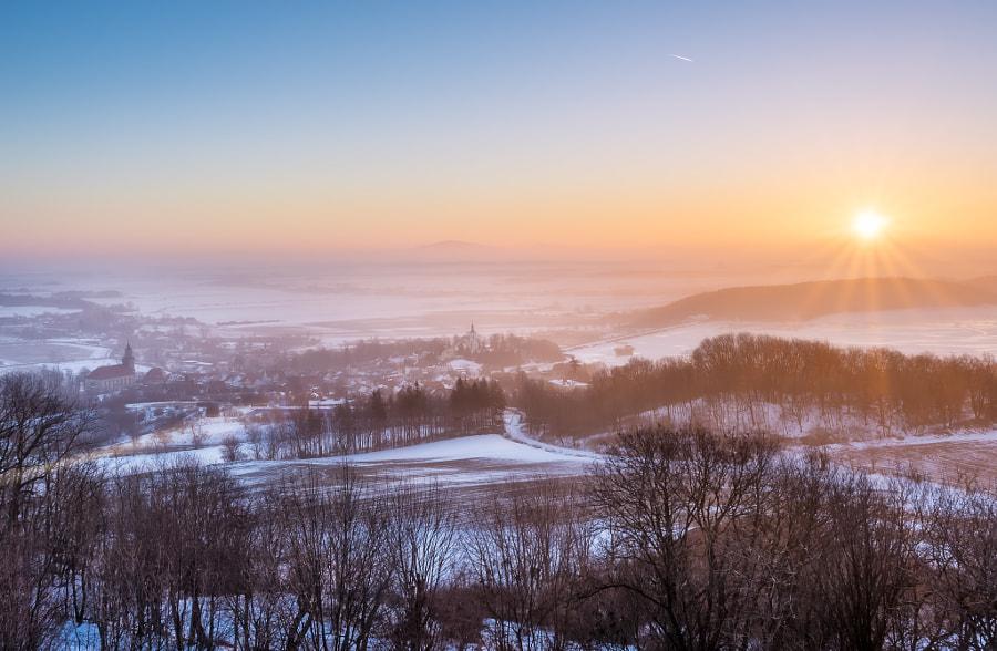 Sunrise in Lower Silesia