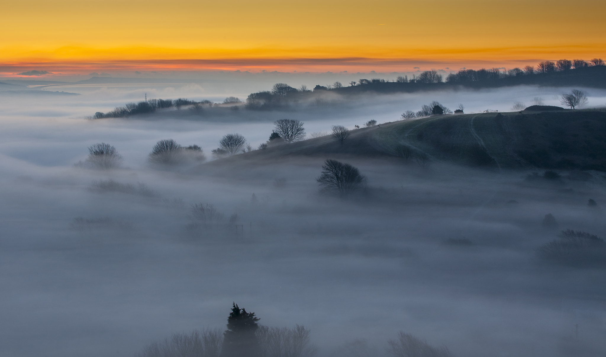 Photograph Quarr Hill by Steve Luck on 500px