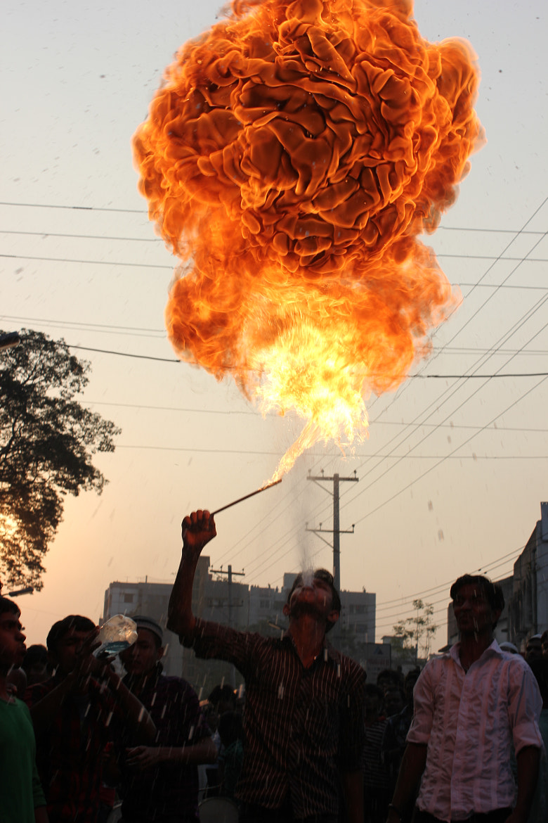 Photograph Flame by Morshad Alam on 500px
