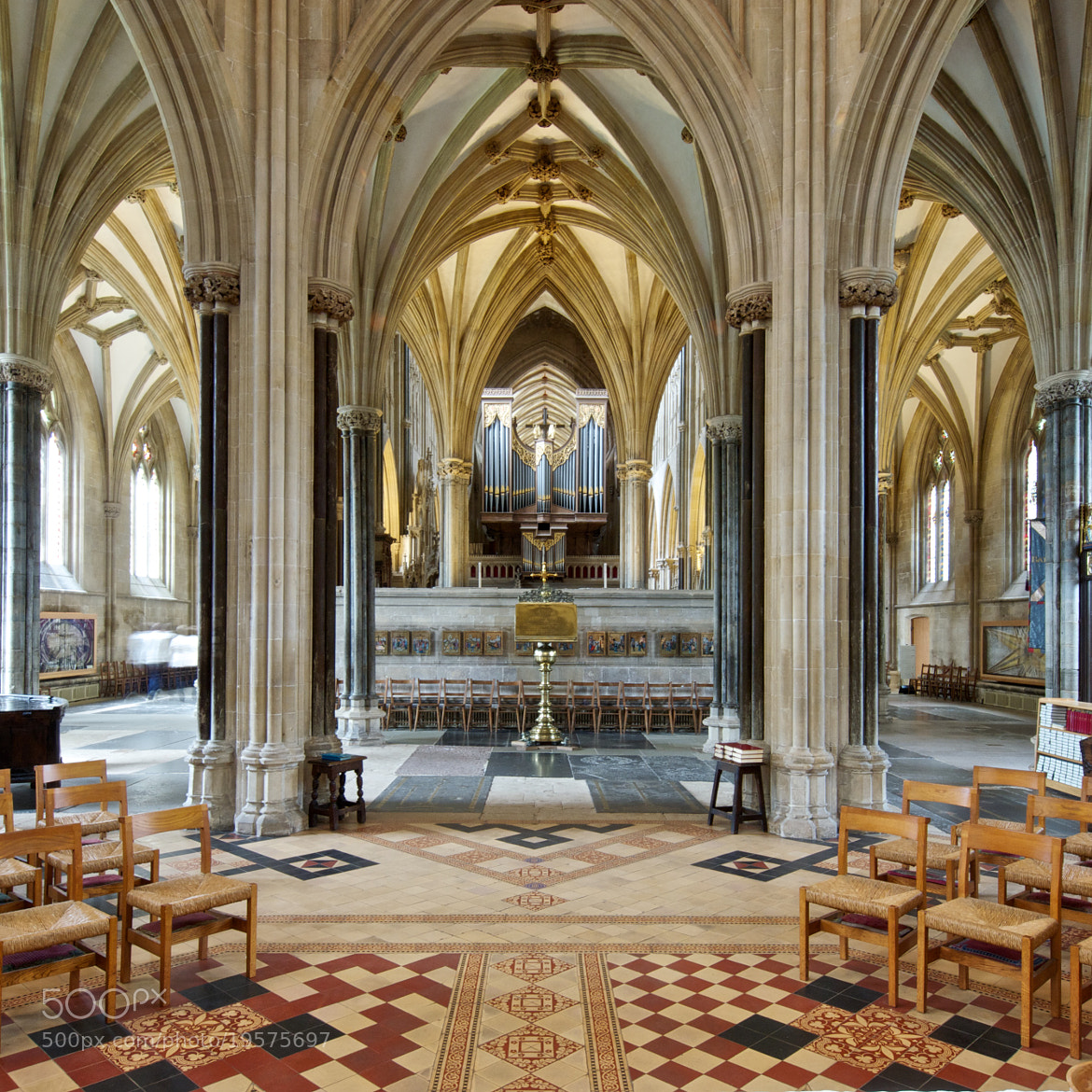 Photograph Complex spaces, Wells cathedral by Jon Sketchley on 500px