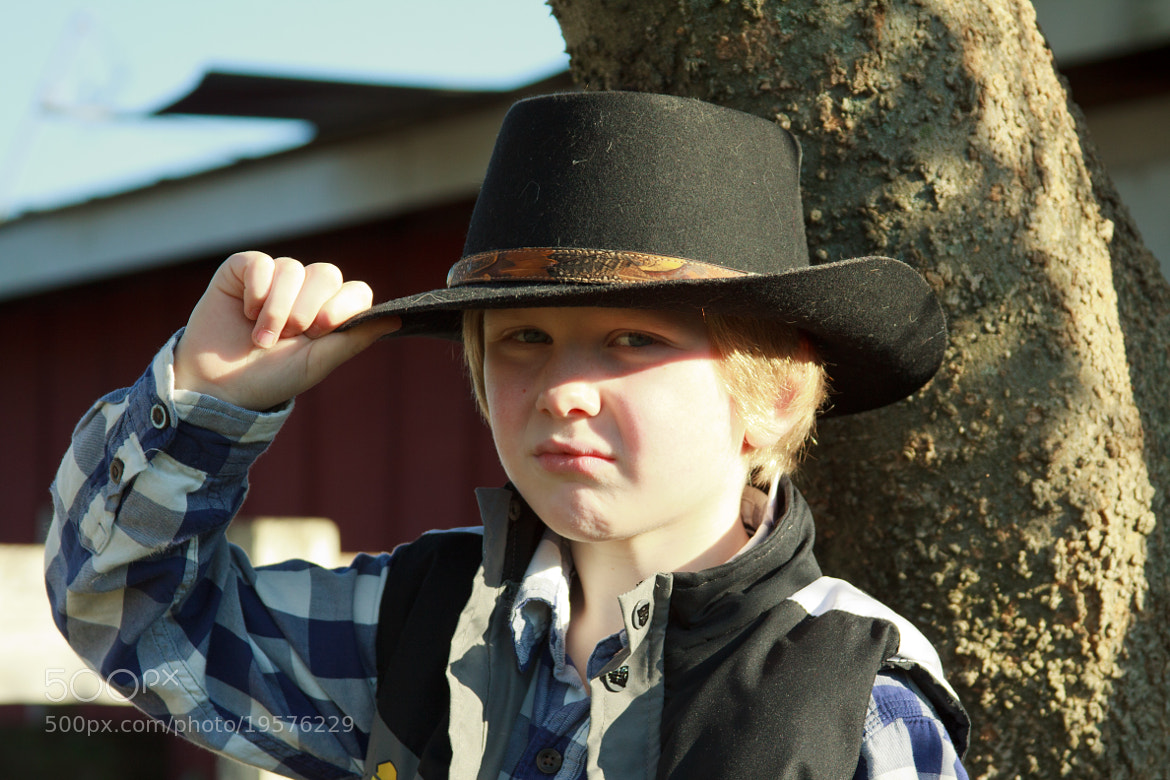 Photograph Little Cowboy by Bob Fisher on 500px