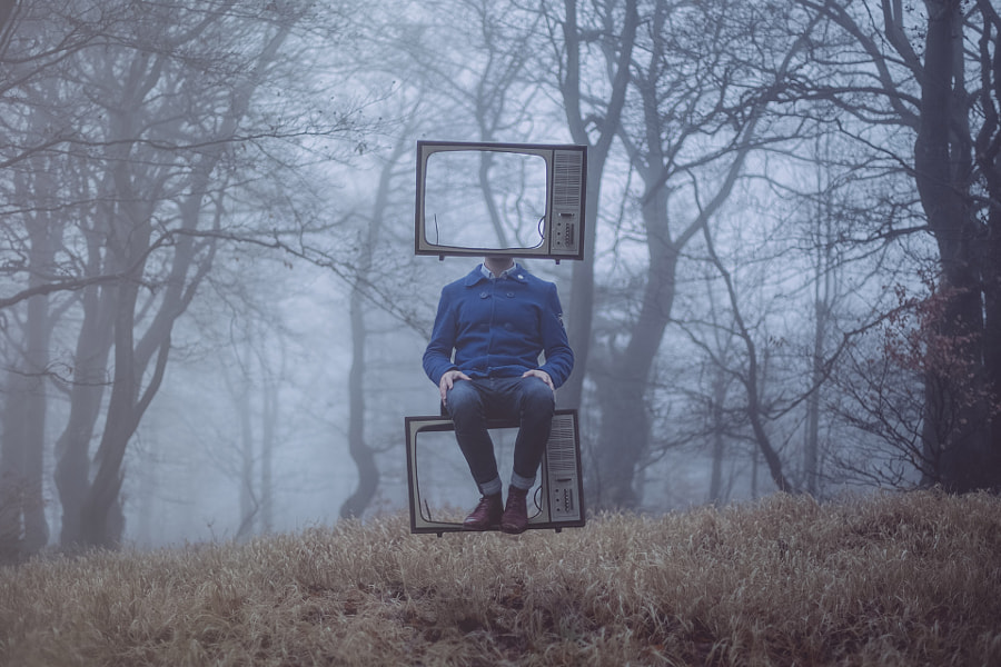 Me and my TV by Petr Hricko on 500px.com