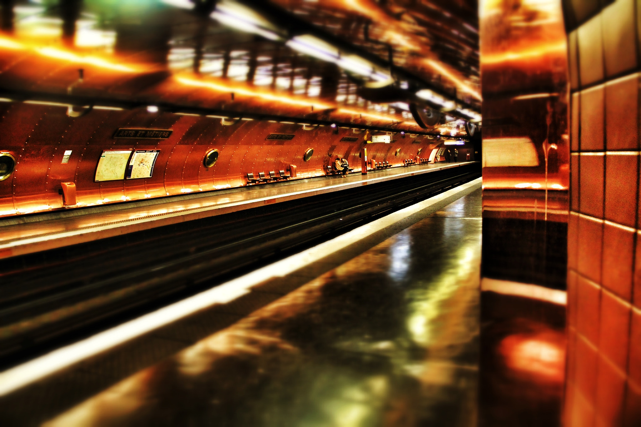 Photograph Underground IV by Stéphane Jean on 500px