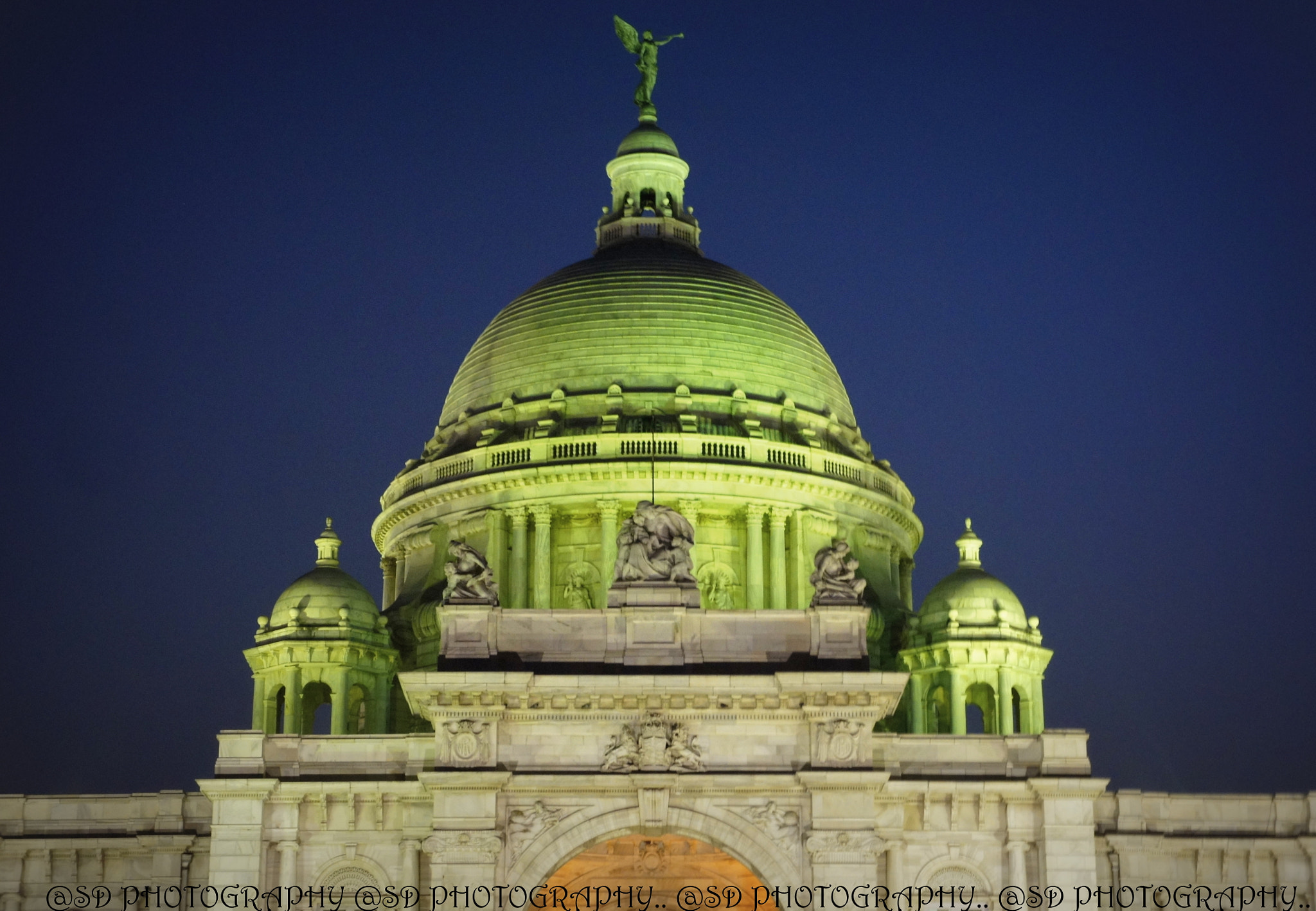 Photograph TOP OF VICTORIA MEMORIAL HALL .. CALCUTTA > INDIA by SUBHA   on 500px