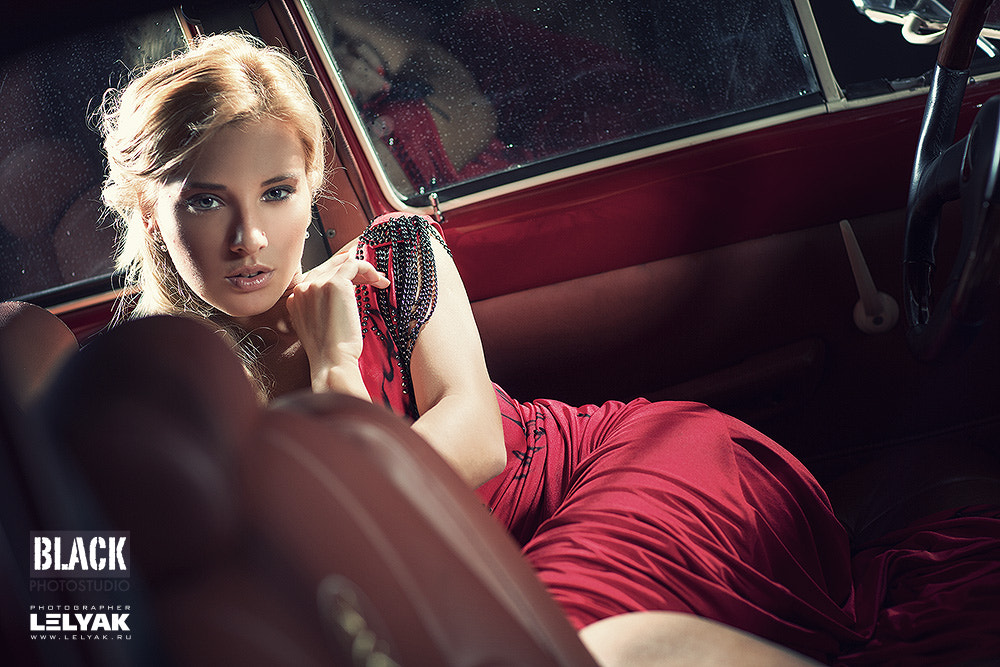 Photograph Lady in red by Konstantin Lelyak on 500px