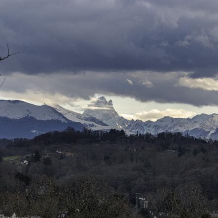 Col des Pyrénées vu de Pau