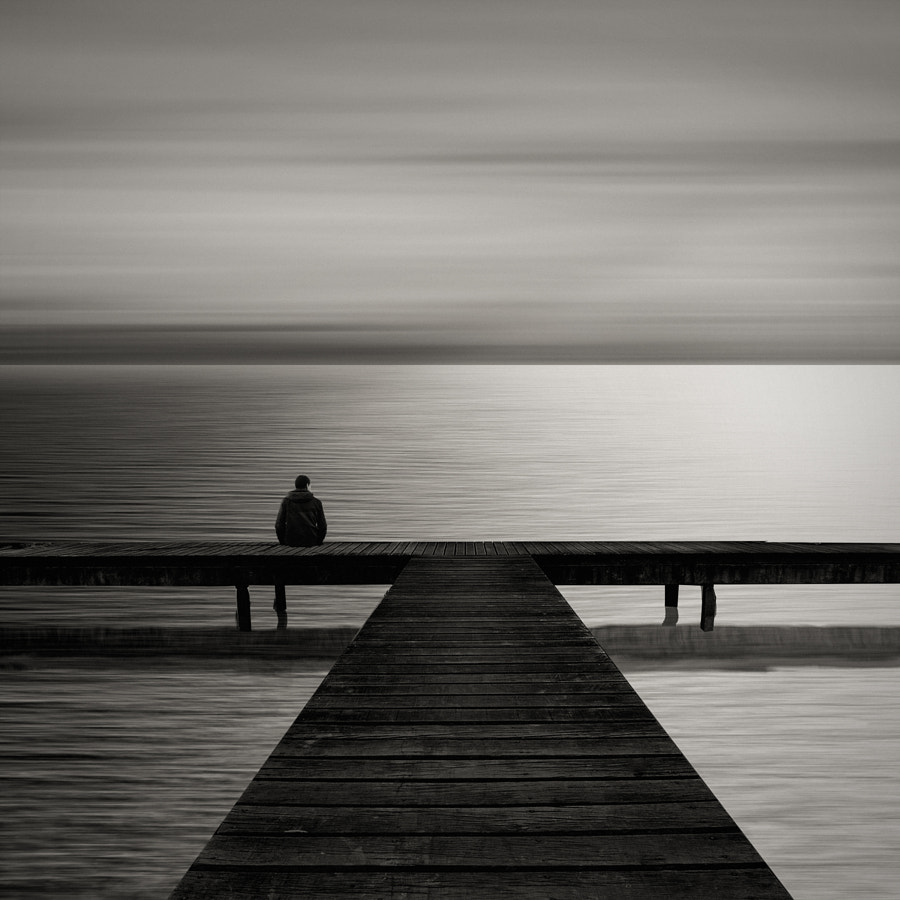 watching ocean by Agniribe on 500px.com