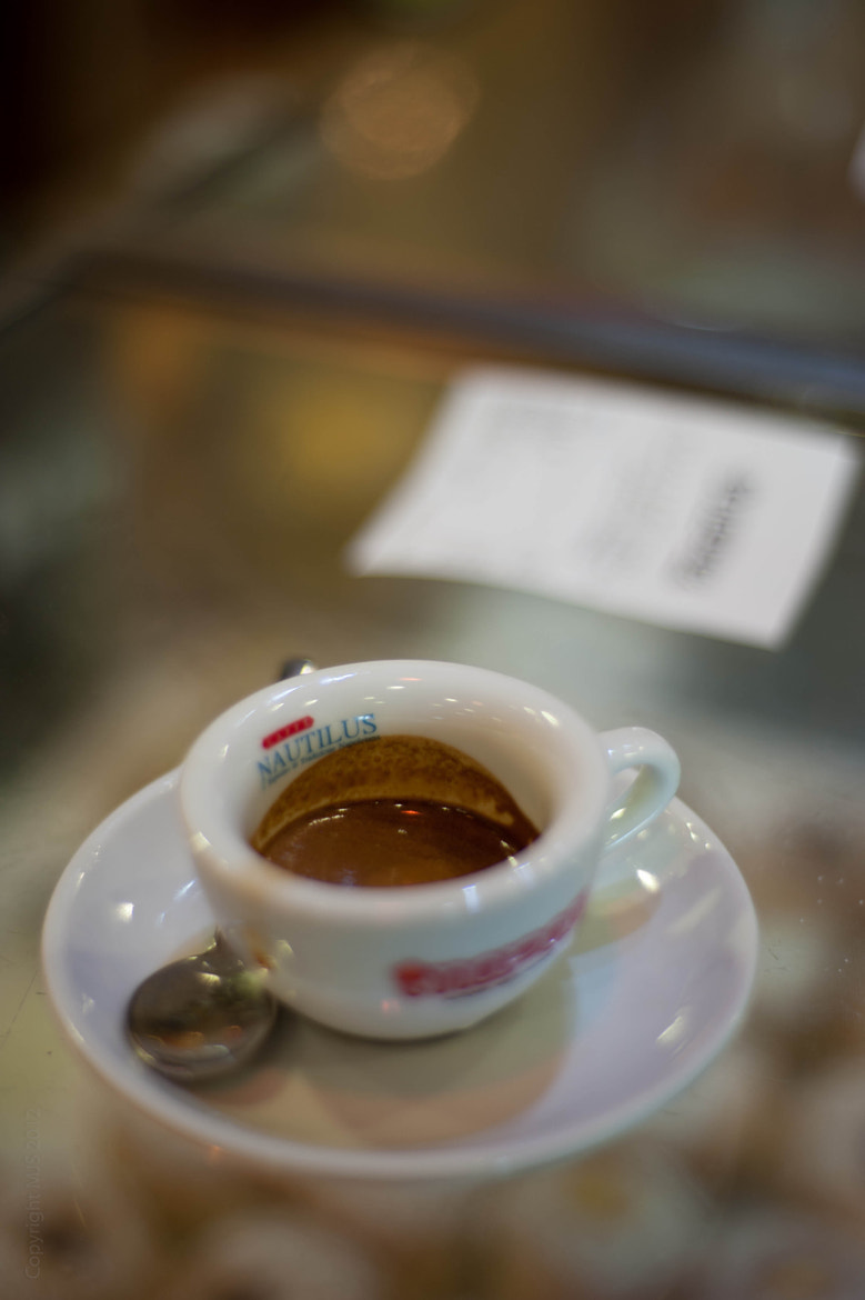 Photograph Coffee, Italian style, Salerno by Mike Smith on 500px