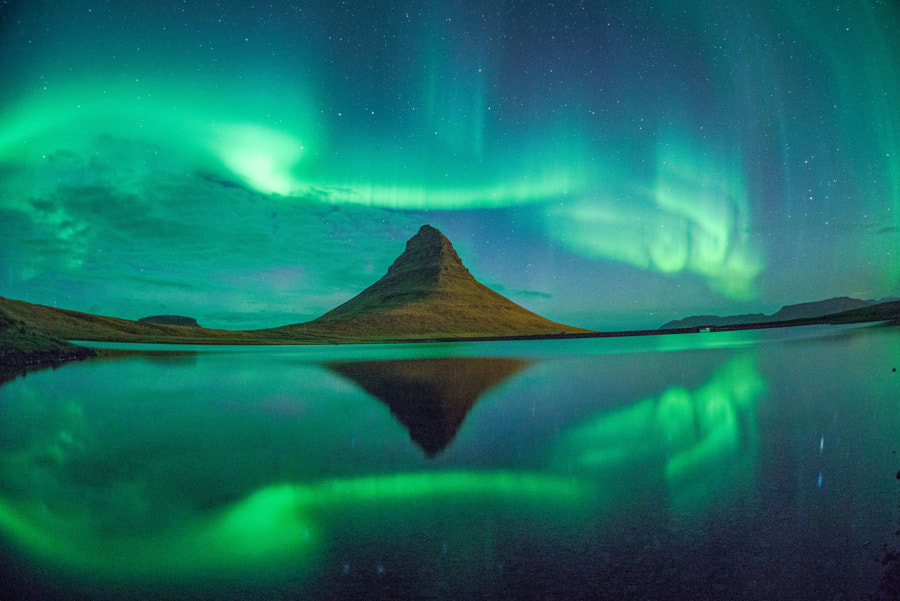 Kirkjufell Iceland Aurora 2015 Chris Burkard by Chris Burkard on 500px.com