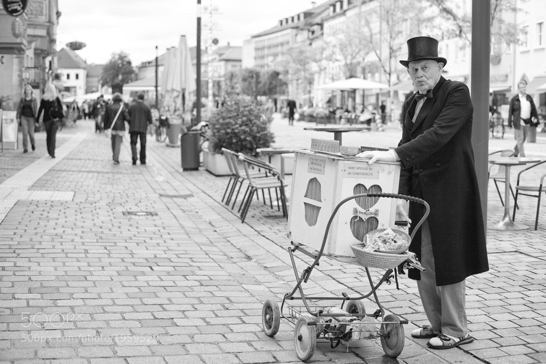 Photograph got a little donation?? by Jonas Börnicke on 500px