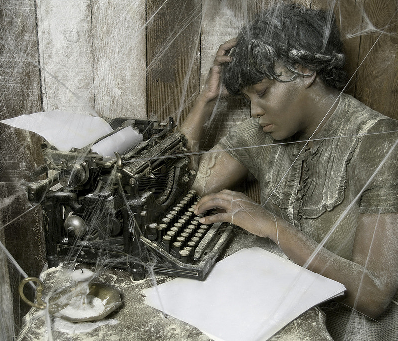 Photograph She Wrote Nothing At All. by Jamila  Clarke on 500px