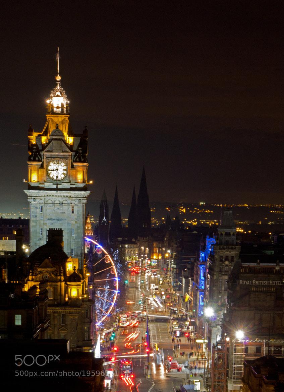 Photograph Princes Street, Edinburgh by Mike Smith on 500px