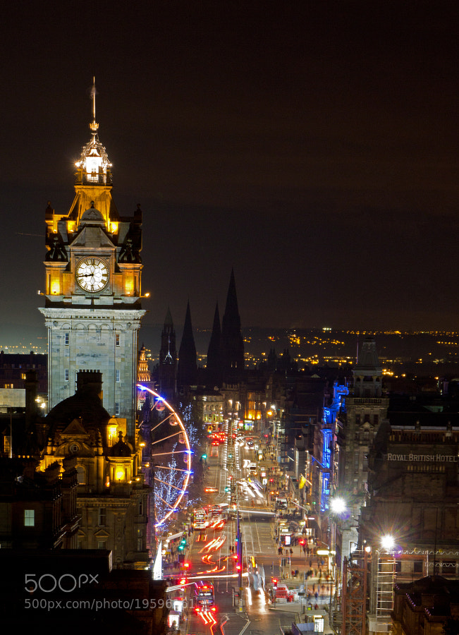 Photograph Princes Street, Edinburgh by Mike Smith on 500px