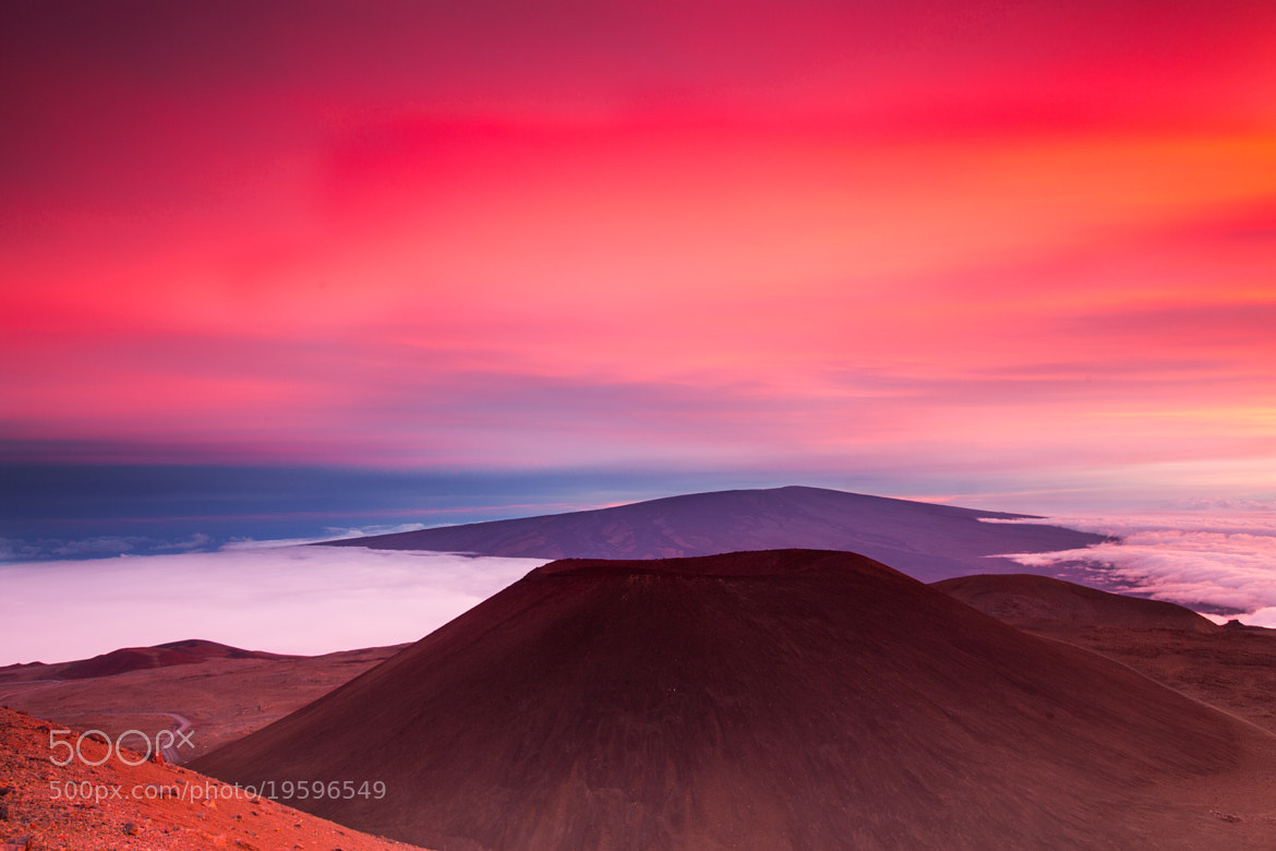 Photograph Mauna Loa and Pu`u Hau Kea by Grant Kaye on 500px