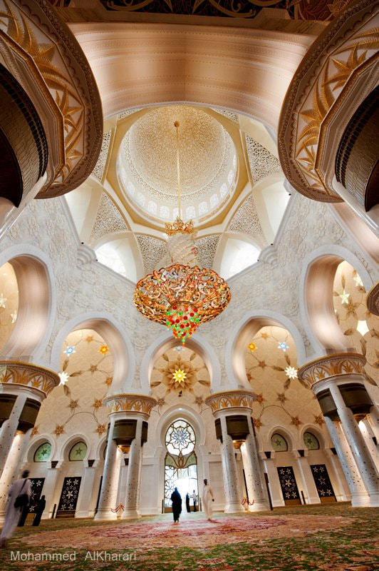 Photograph Shaikh Zaied Mosque2 by Mohammed AlKharari on 500px