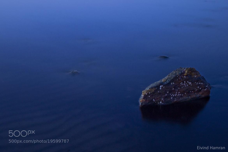 Photograph The blue hour by Eivind Hamran on 500px