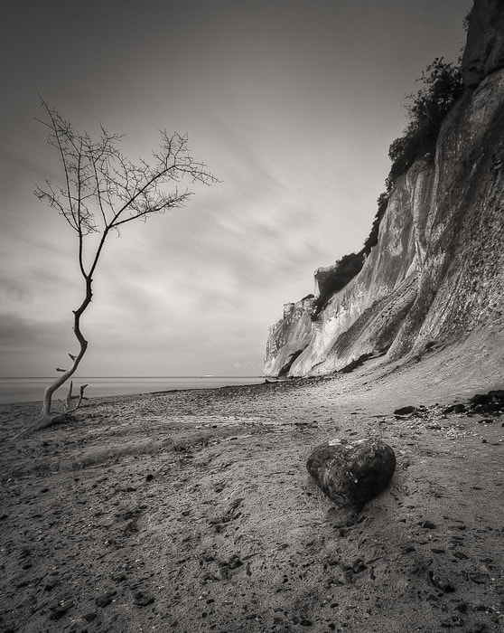 Photograph heart under the cliff by Marek Wilczura on 500px