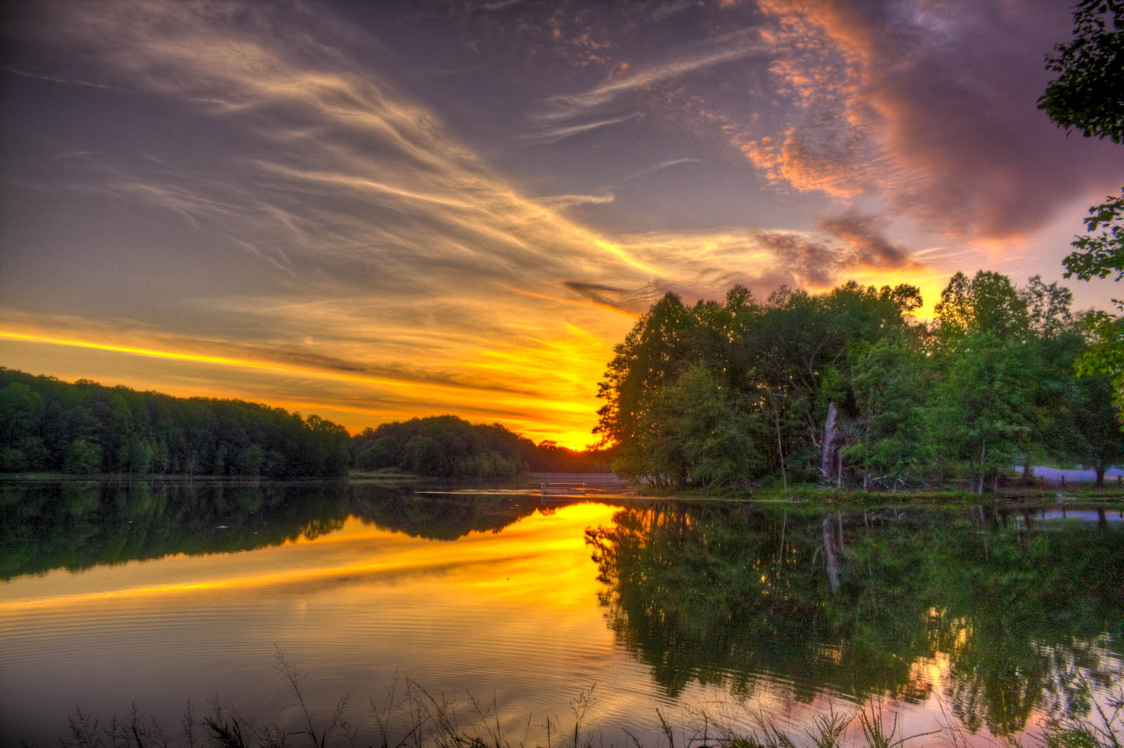 Photograph Sunset in Maryland by Ross Moore on 500px
