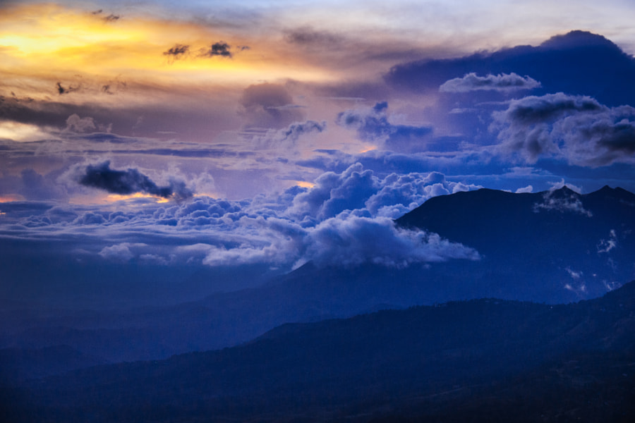 Evening Over the Beragala Pass, Sri Lanka #4 by Son of the Morning Light on 500px.com