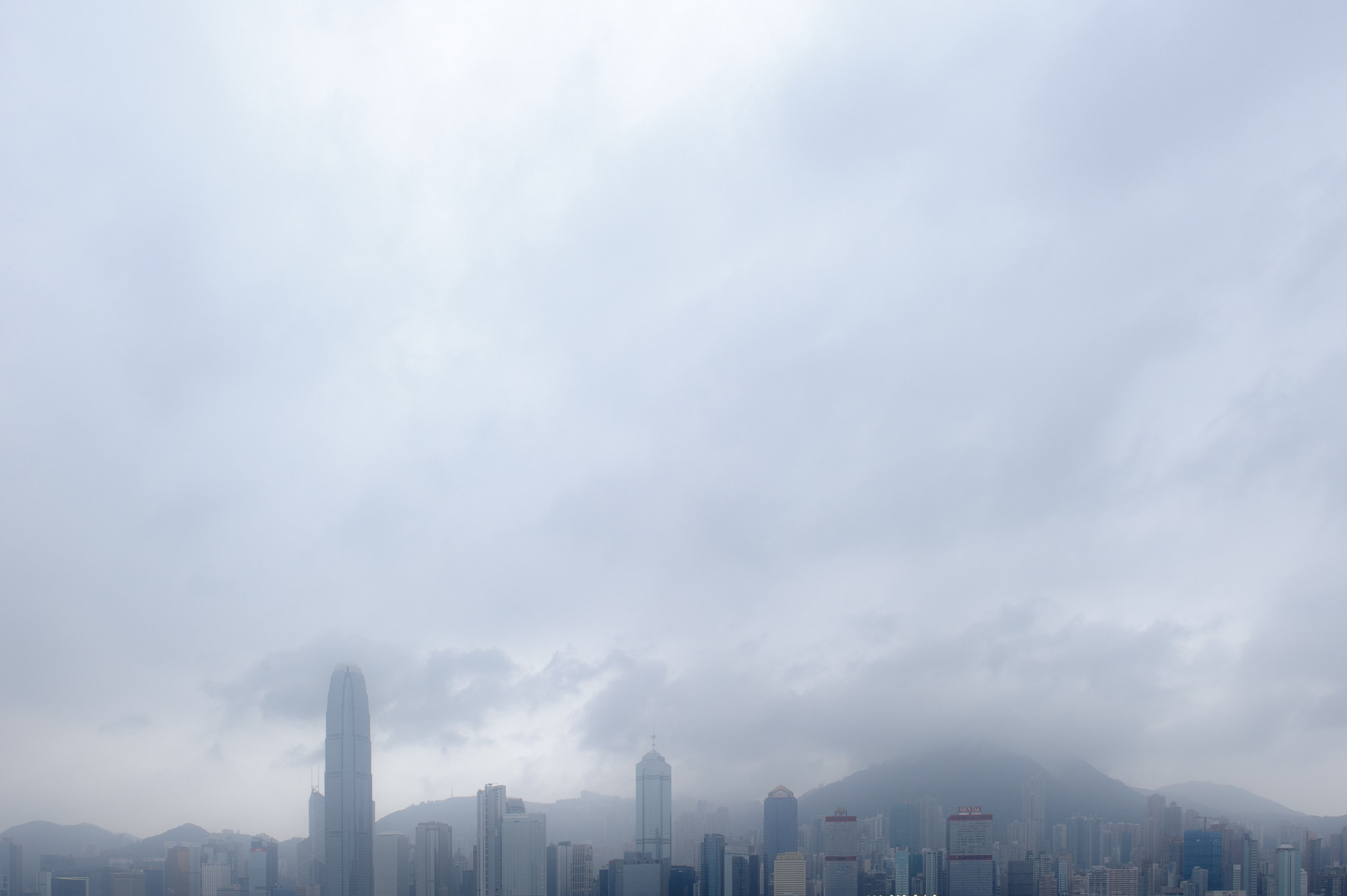 Photograph # fog, victoria harbour by Leif Yung on 500px