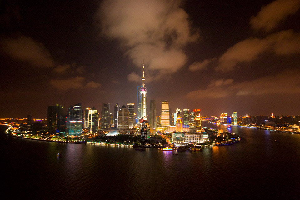 Photograph Pudong, from the heights by Corinne Stoppelli on 500px
