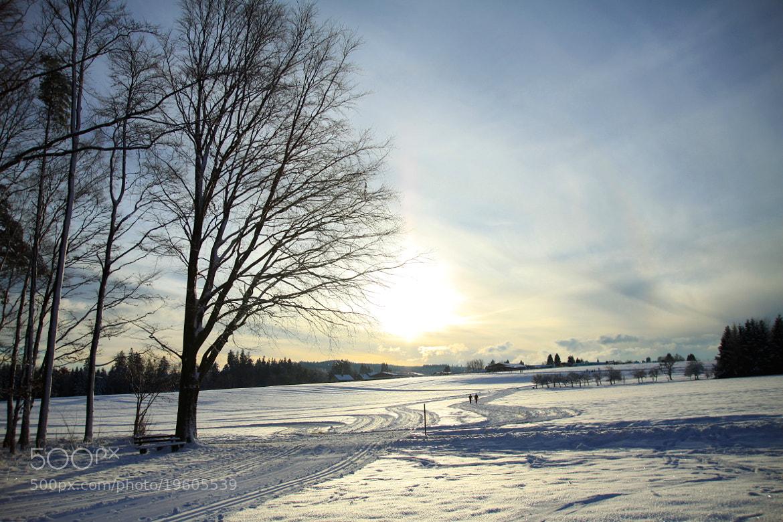 Photograph Winterlandschaft by Max Wiedenmann on 500px