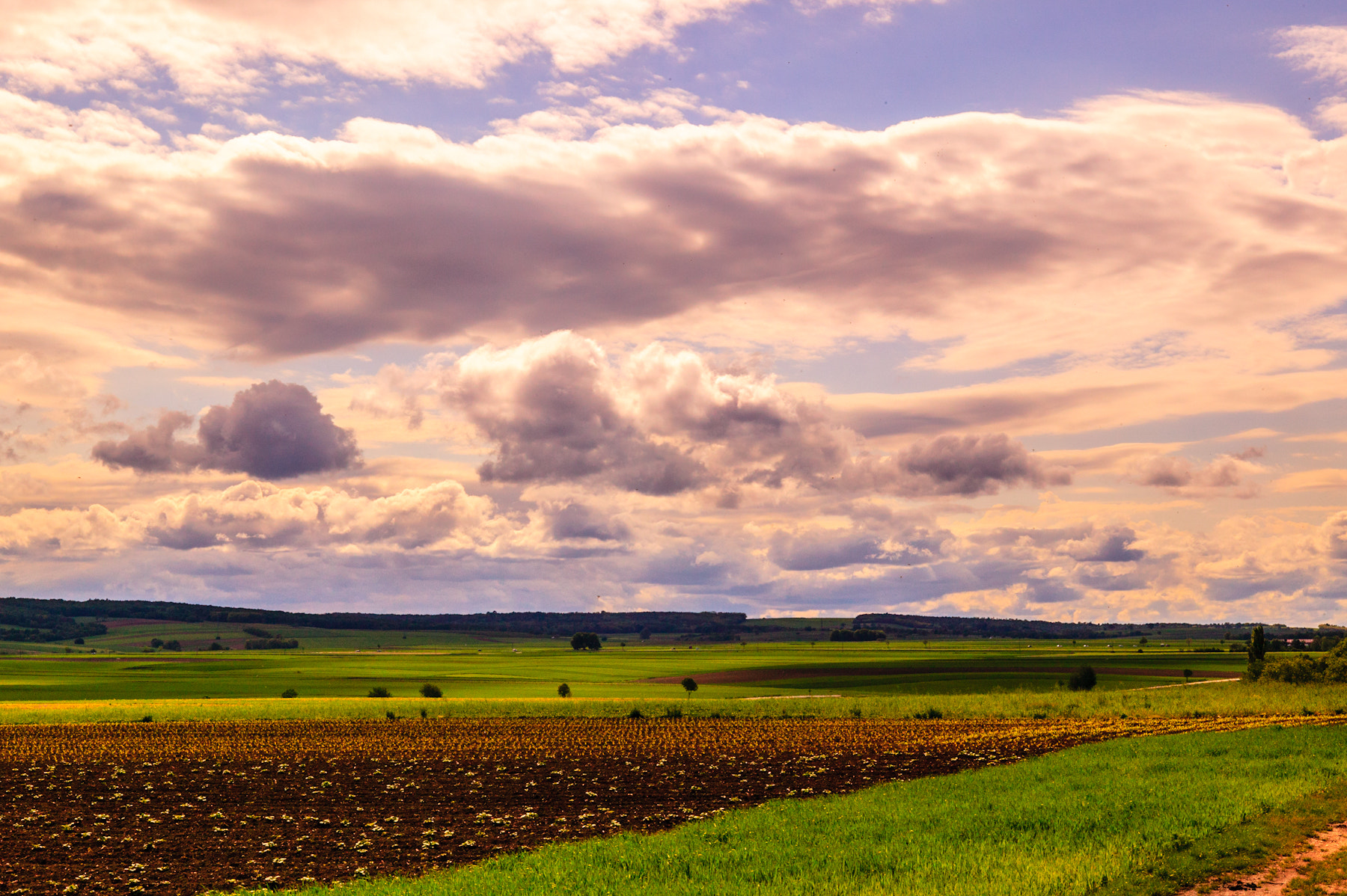 Photograph Clouds over Fields by Ernst Gamauf on 500px