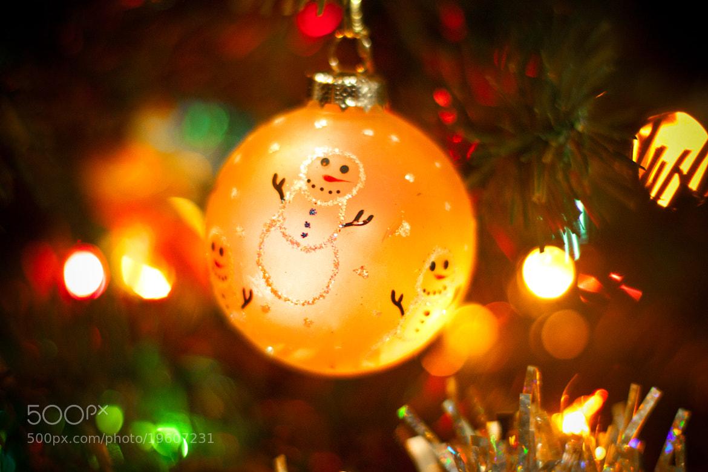 Photograph Snowman Ornament by Tony Pham on 500px
