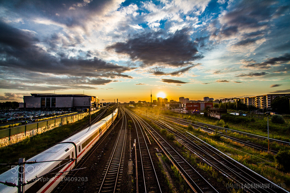 Photograph Berlin Sunset by Daniel Ladenhauf on 500px