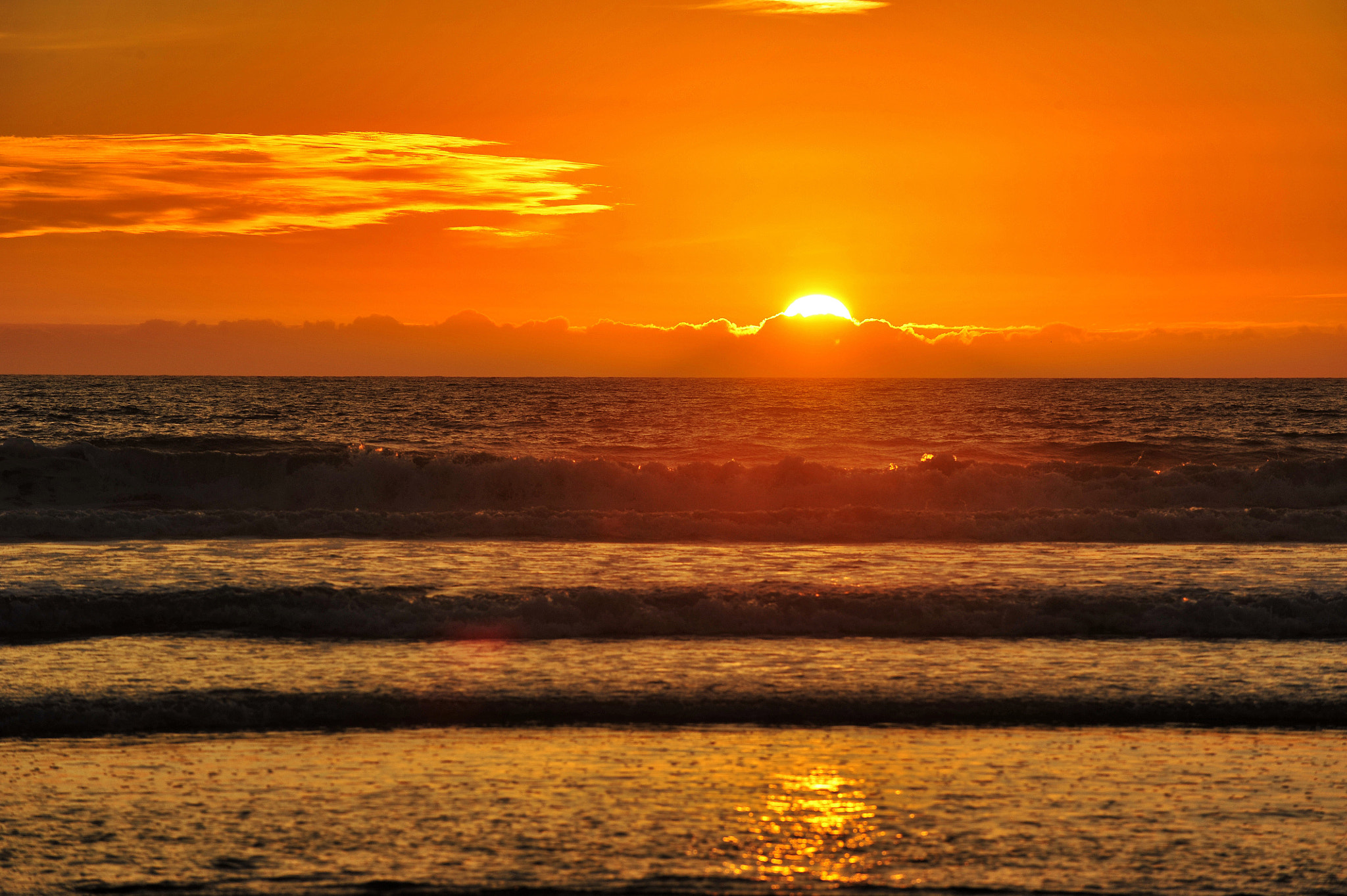 Photograph The Sun Sets in Oceanside - December 1, 2012 by Rich Cruse on 500px