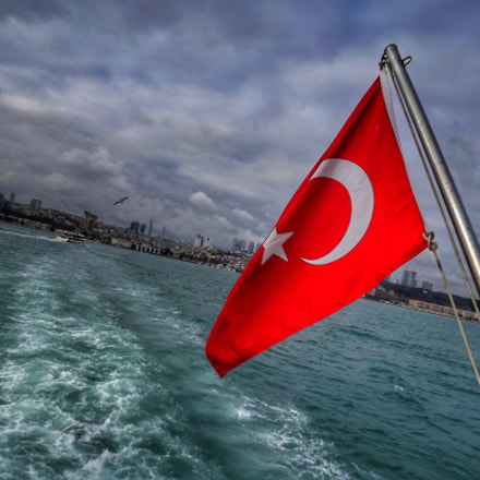 Bosphorus - FlagScape, Fujifilm FinePix S3200