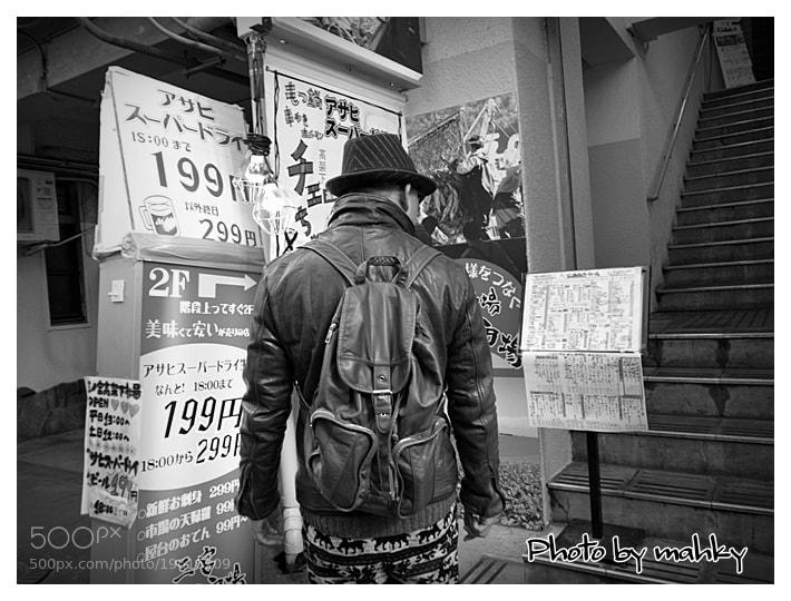 Photograph At a loss man by mahky jp on 500px