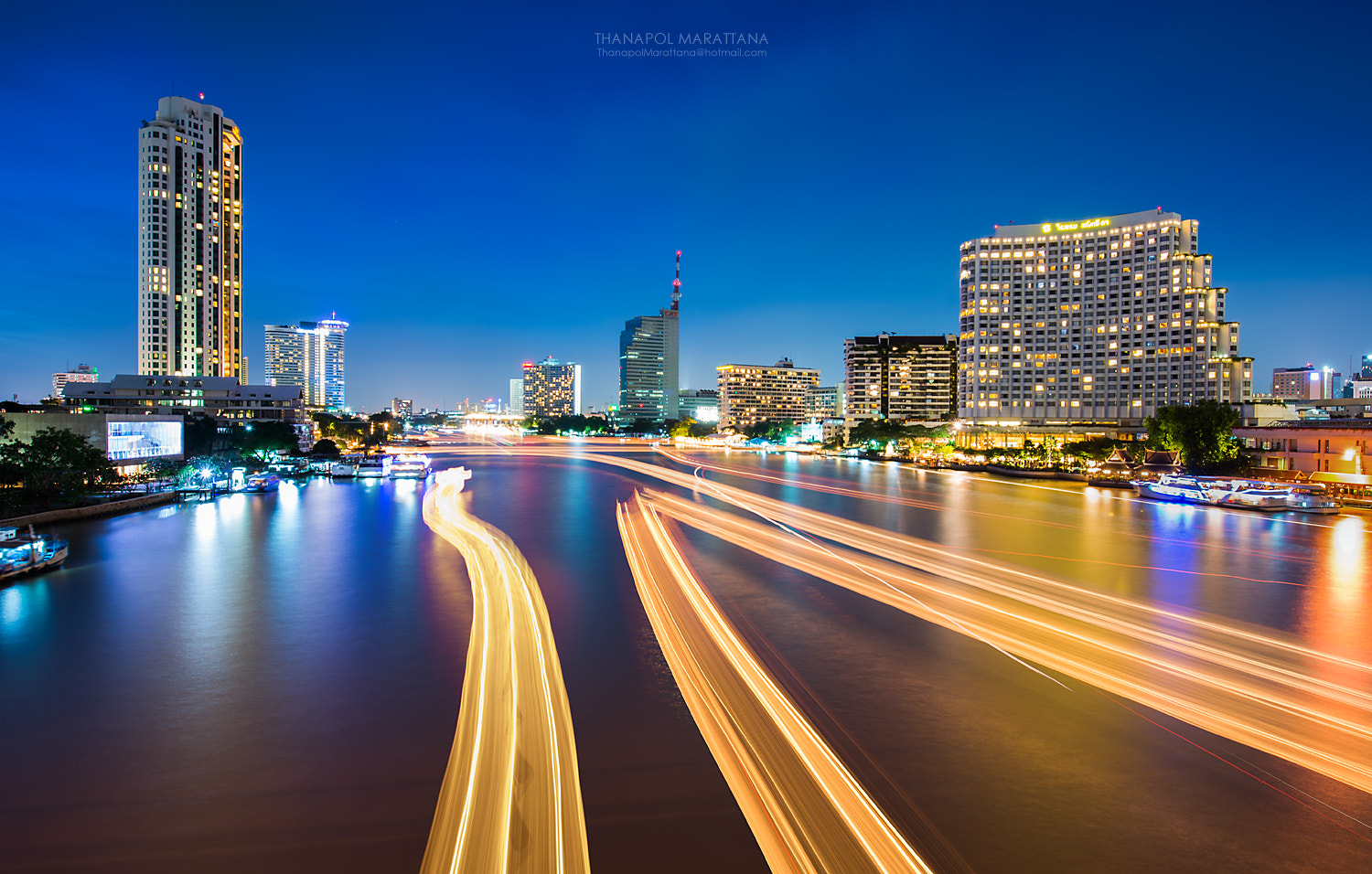 Photograph Bangkok Night by Thanapol Marattana on 500px